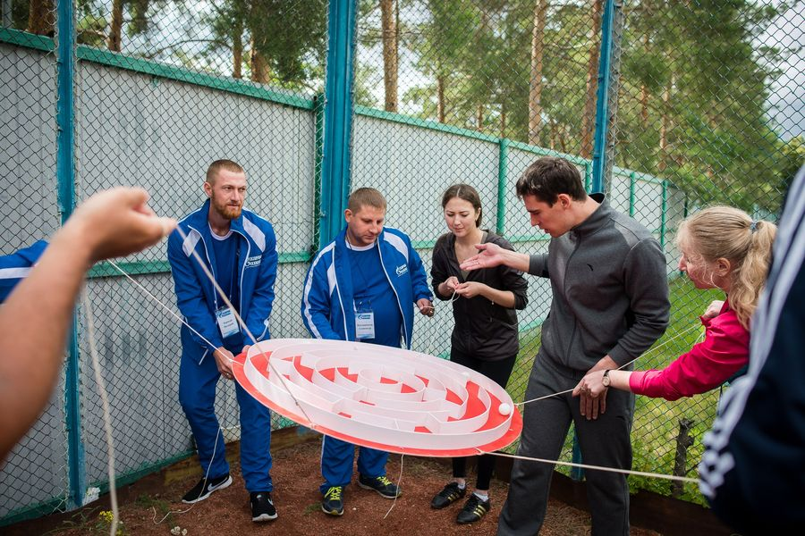 Тимбилдинг для «Газпром Энерго»